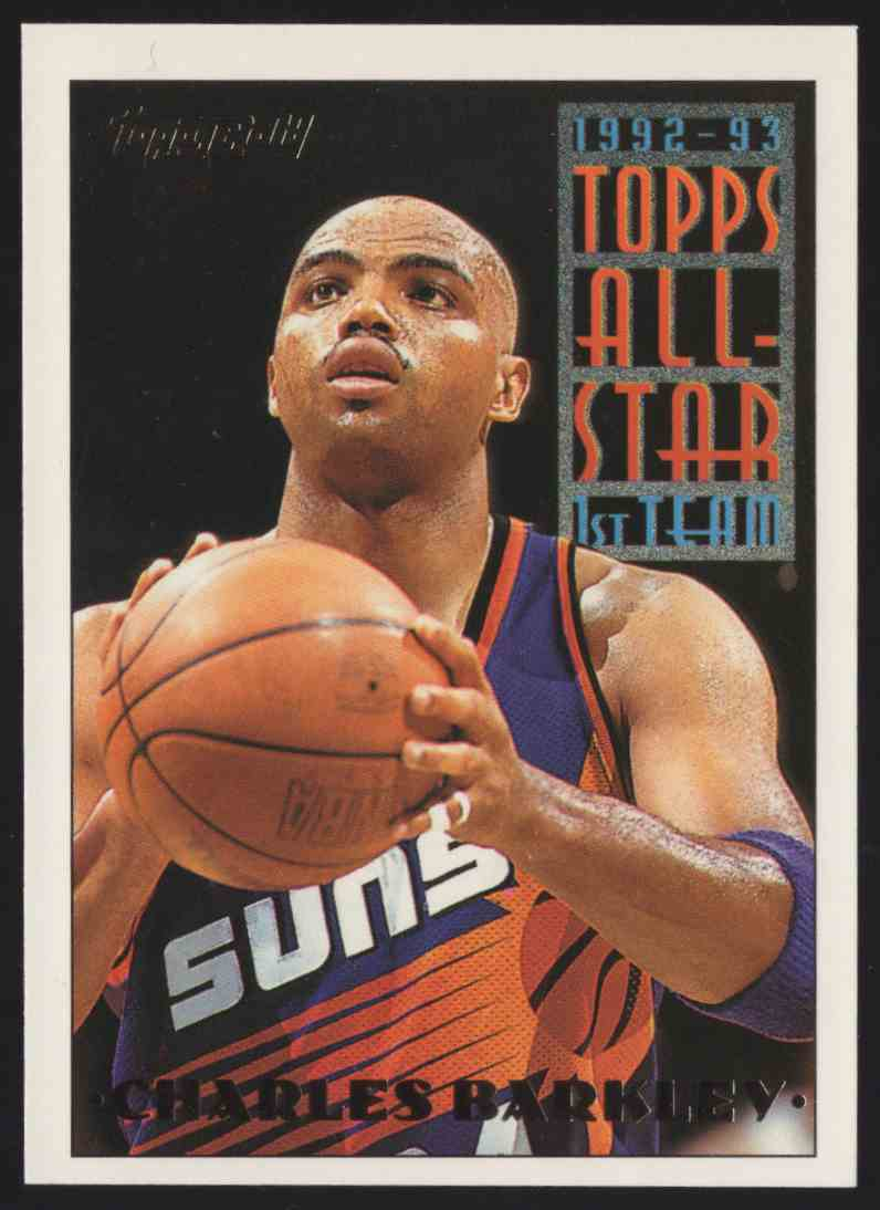 1993-94 Topps Gold Charles Barkley As #104 card front image