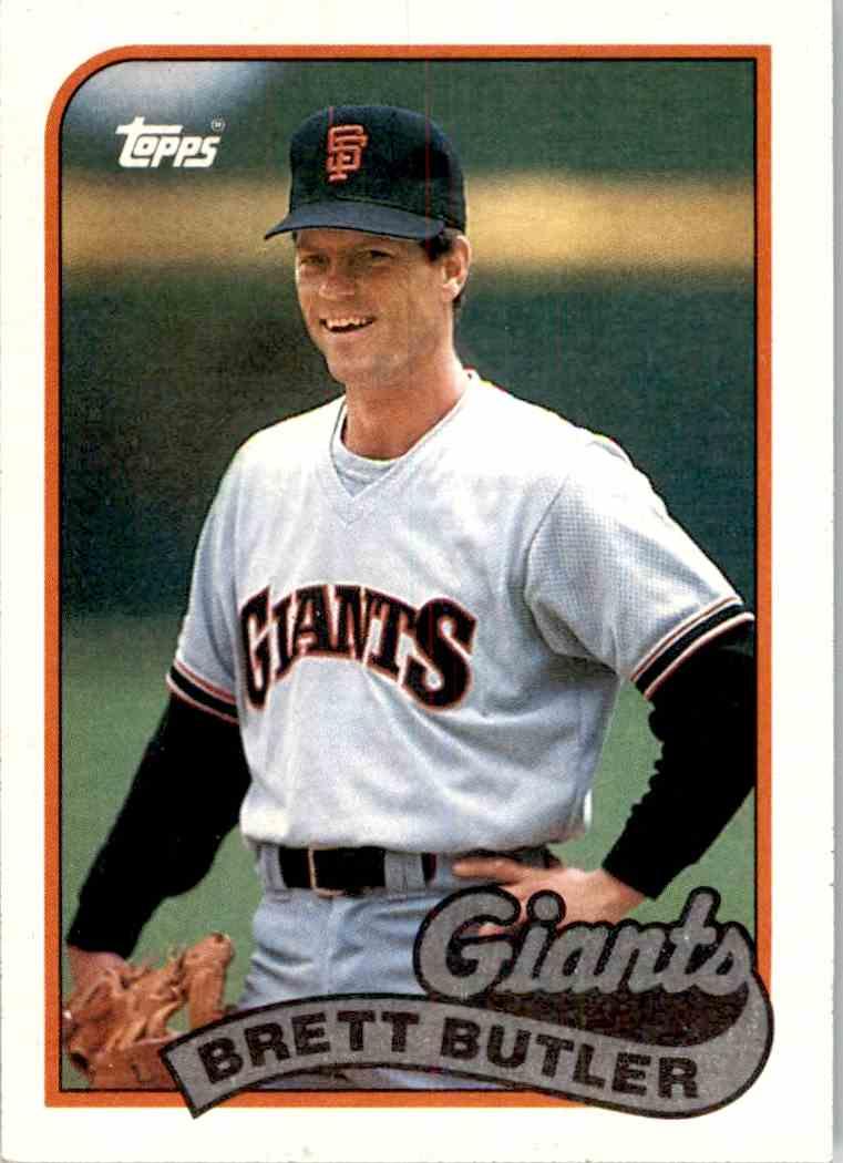 1989 Topps Brett Butler 241 On Kronozio