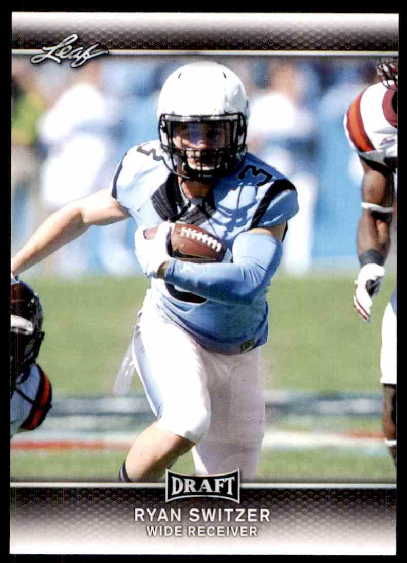2017 Leaf Draft Ryan Switzer #58 card front image