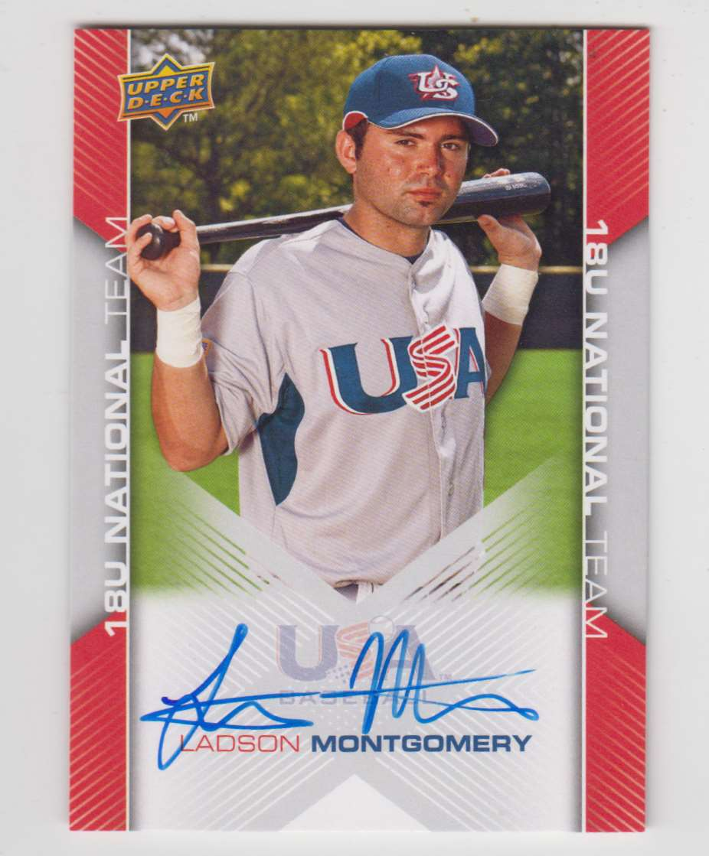 2009 2009-10 Upper Deck USA Baseball Ladson Montgomery #USA-90 card front image