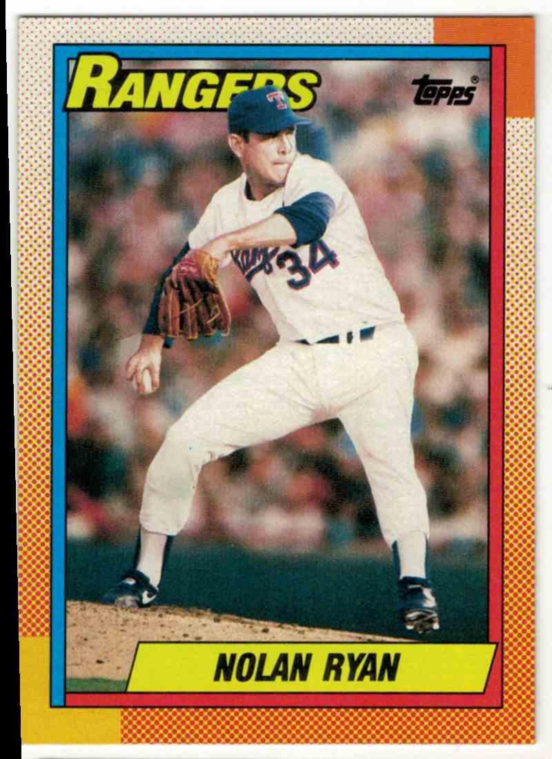 1990 Topps Nolan Ryan #1 card front image