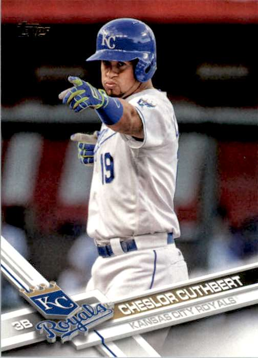 2017 Topps Series 2 Cheslor Cuthbert #677 card front image