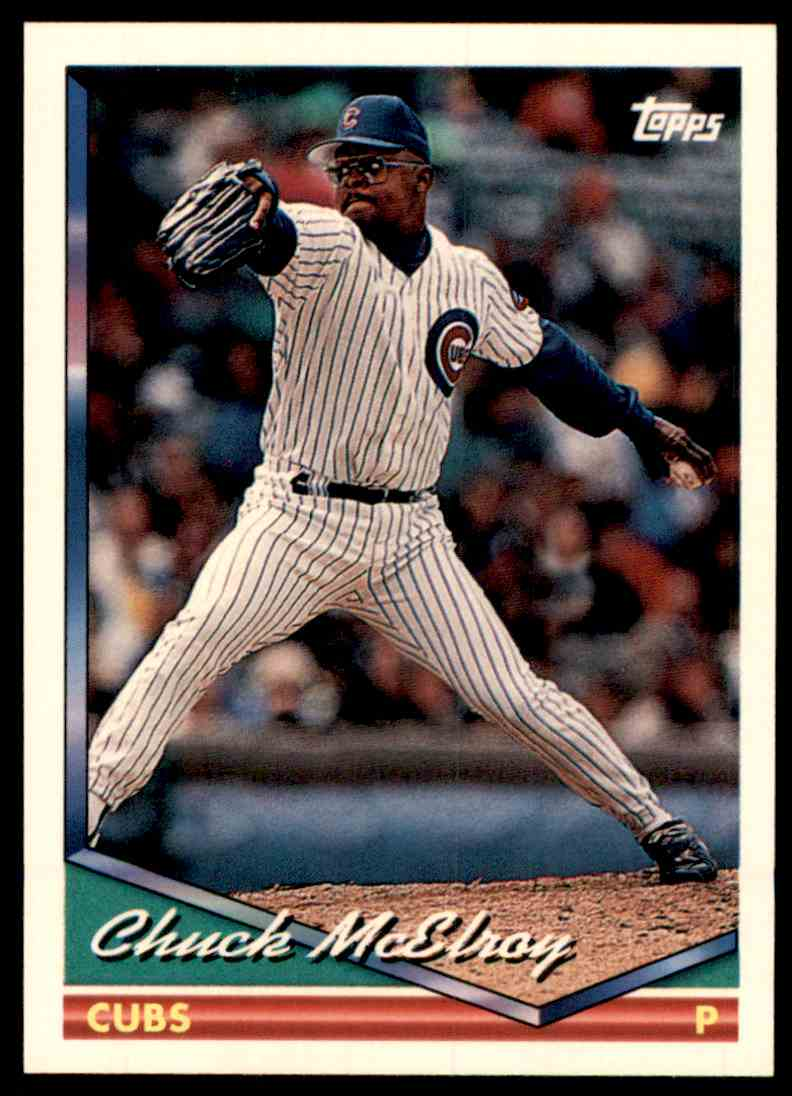 1994 Topps Chuck McElroy #613 card front image