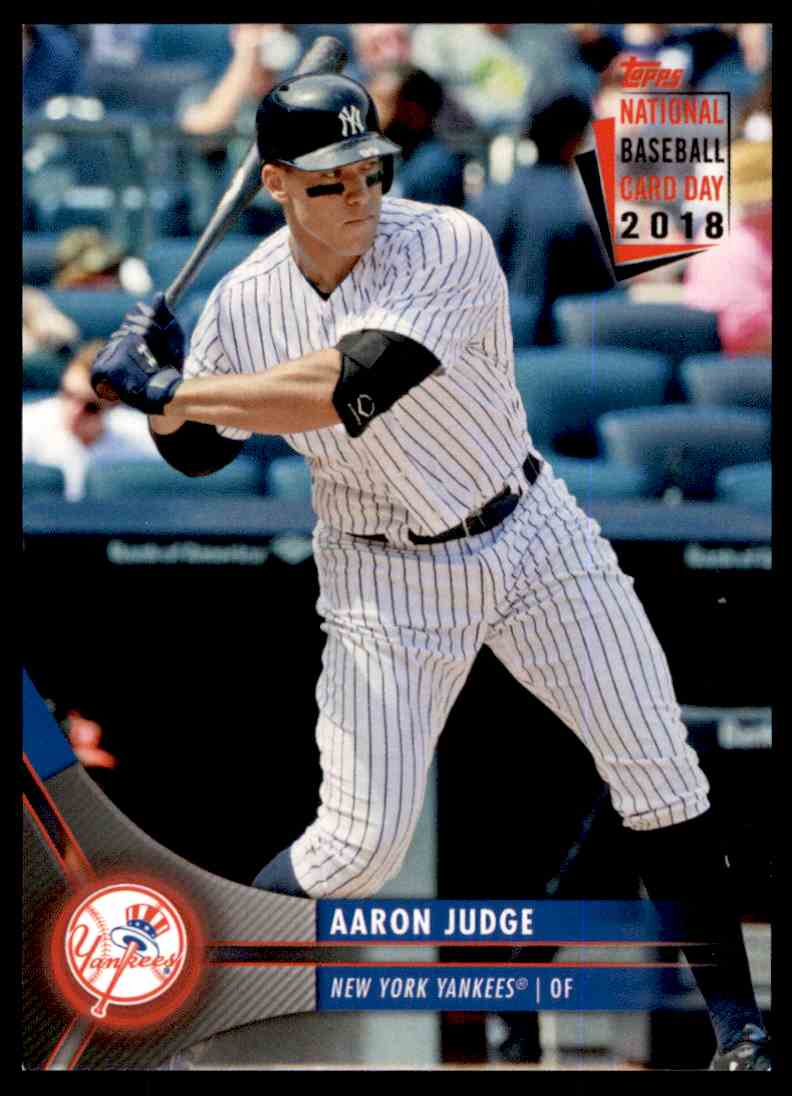 2018 Topps National Baseball Card Day Aaron Judge