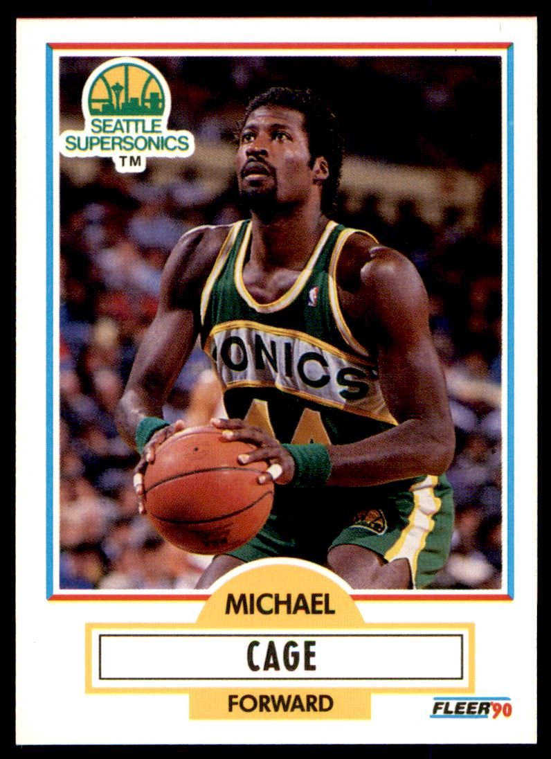 12 Michael Jerome Cage trading cards for sale