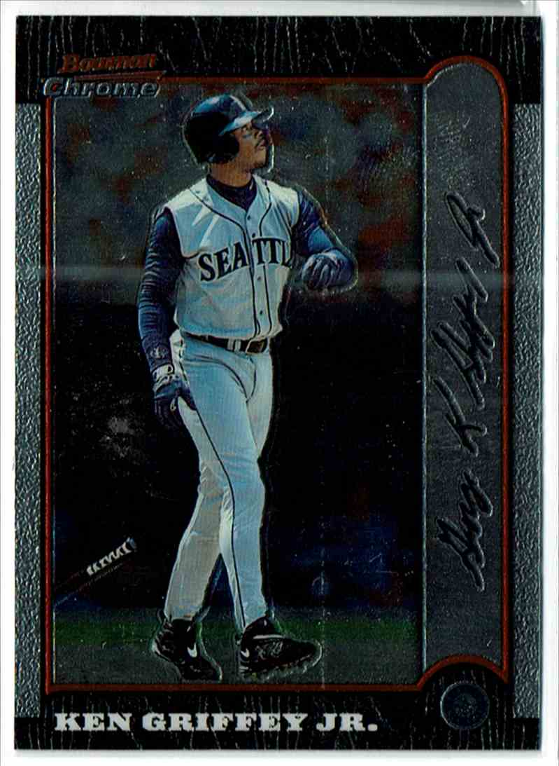 1999 Bowman Chrome Ken Griffey JR. #52 card front image