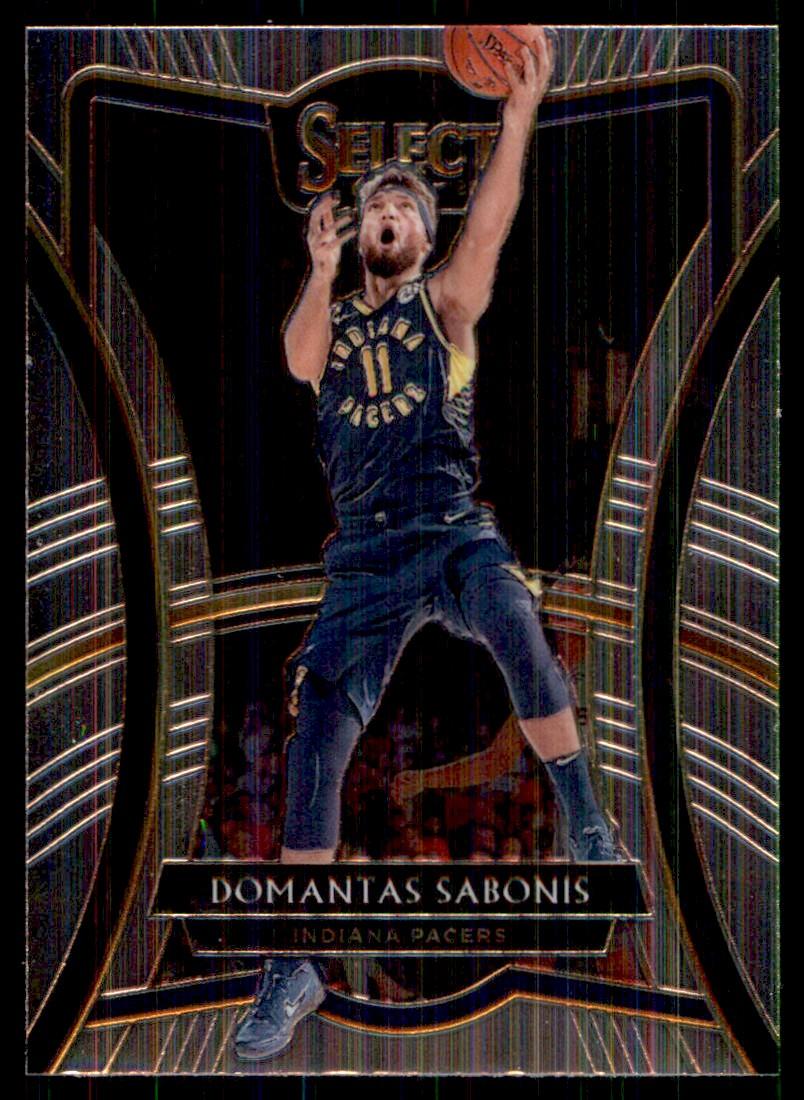 2019-20 Panini Select Domantas Sabonis #186 card front image