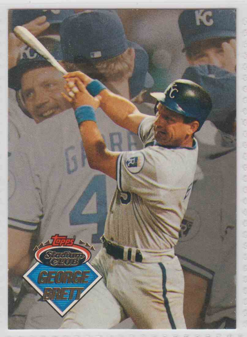 1993 Topps Stadium Club Inserts George Brett #2 card front image
