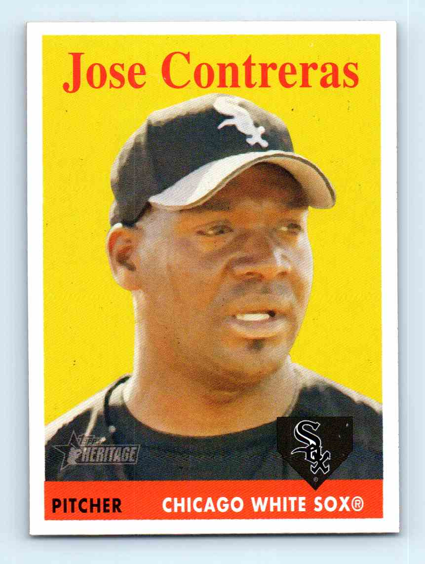 jose contreras singles Jose contreras is a member of the following lists: competitors at the 1998 central american and caribbean games, central american and caribbean games gold medalists and pan american games medalists in baseball.