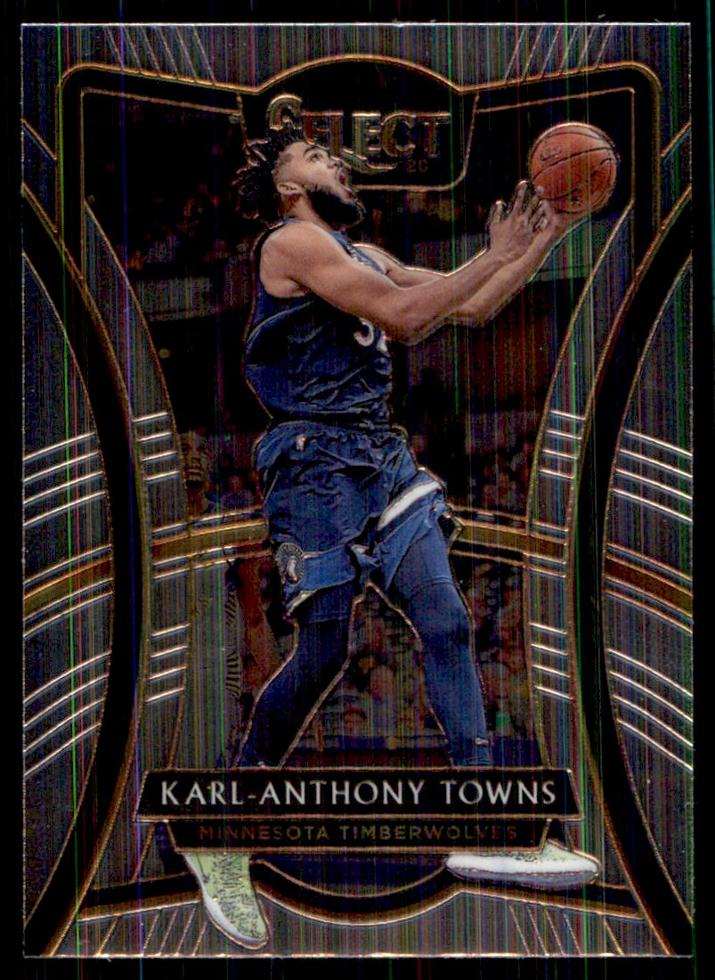 2019-20 Panini Select Karl-Anthony Towns #161 card front image