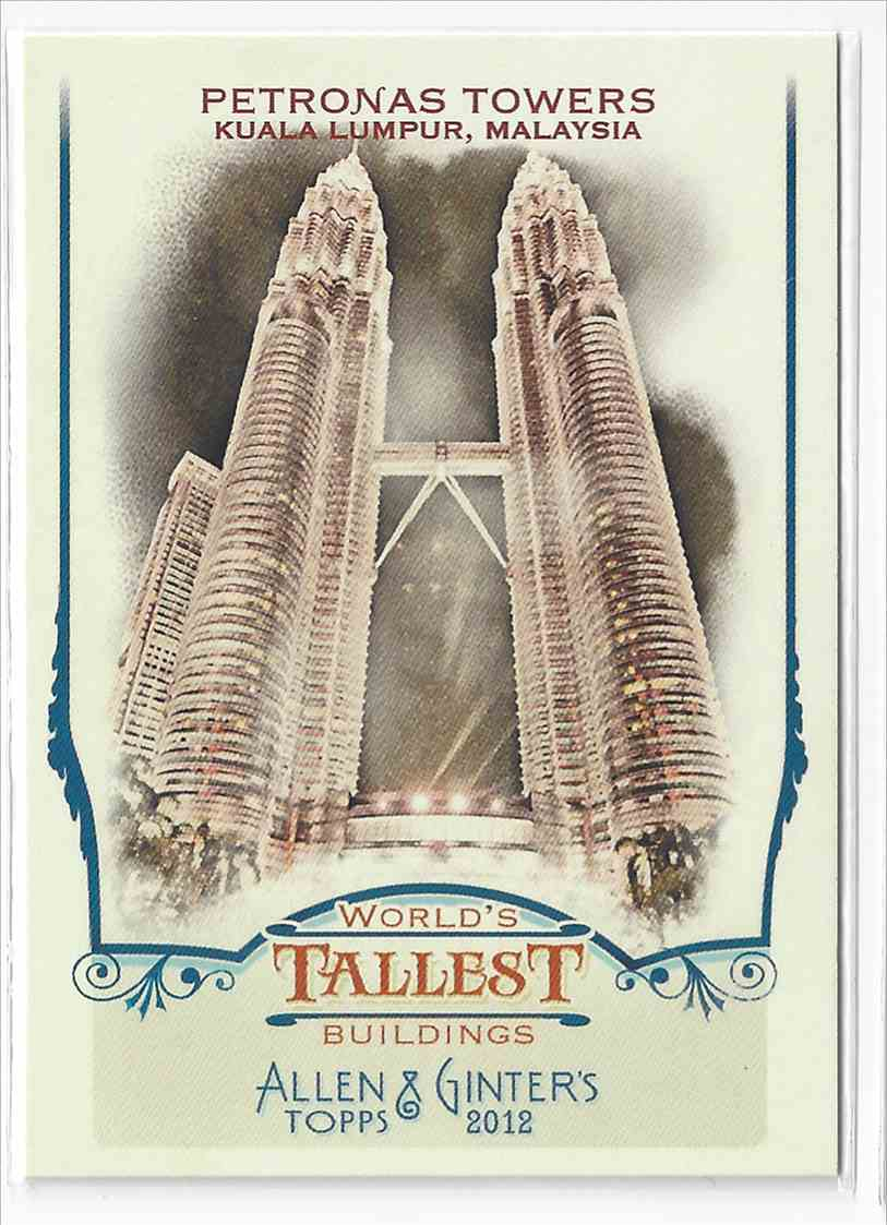 2012 Topps Allen & Ginter Petronas Towers #WTB3 card front image