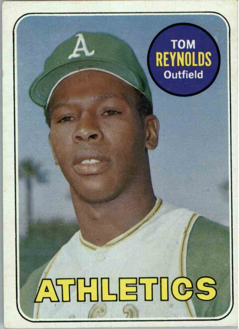 1969 Topps Tom Reynolds #467 card front image