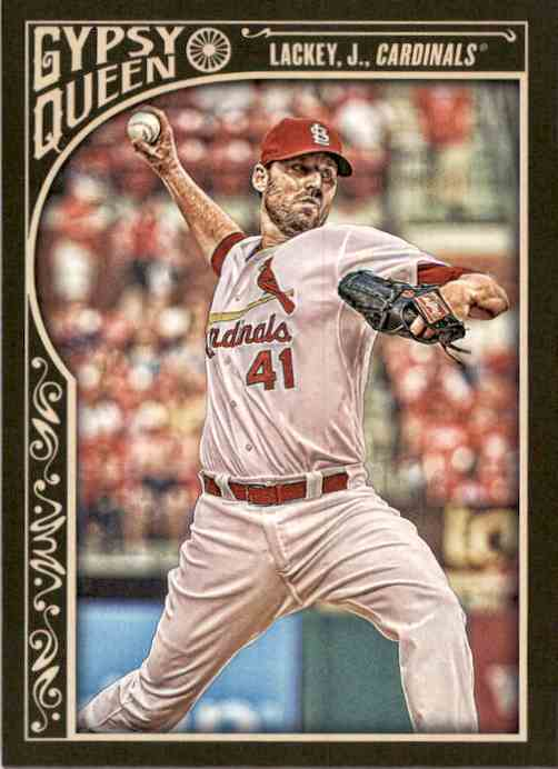 2015 Topps Gypsy Queen John Lackey #27 card front image