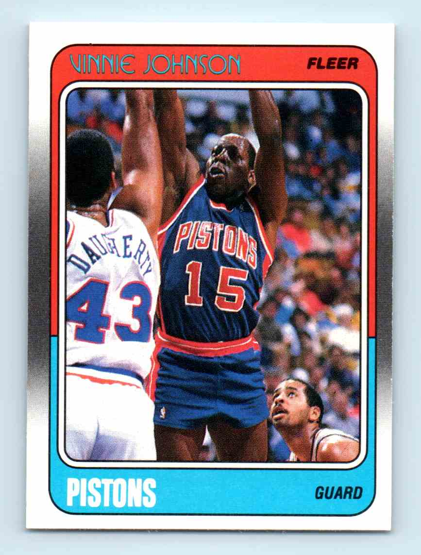 145 Vinnie Johnson trading cards for sale