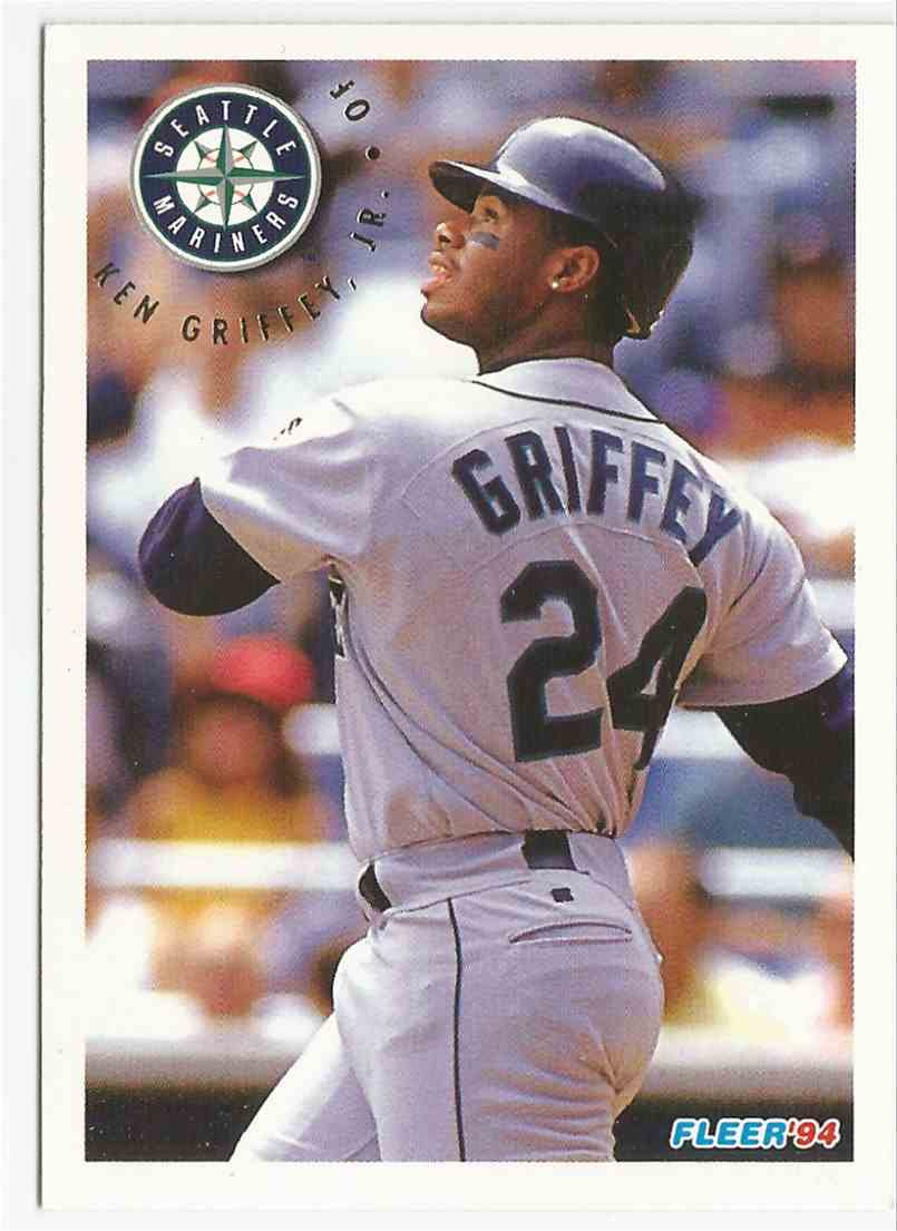 0723c1ba14 1994 Fleer Ken Griffey, JR. #286 card front image