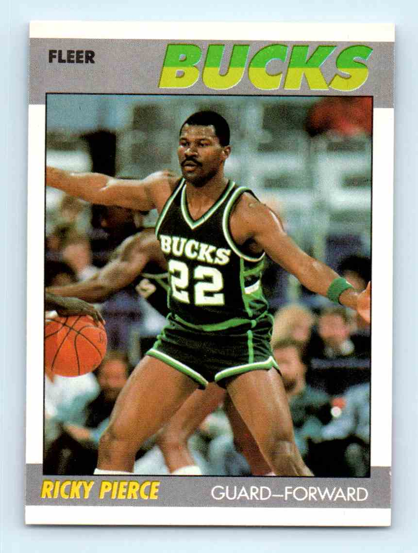 1987 88 Fleer Ricky Pierce 87 on Kronozio
