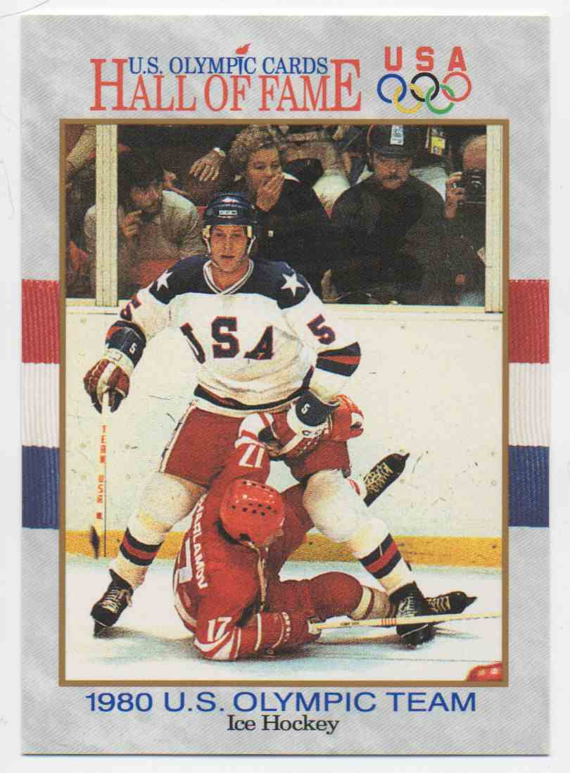 1991 Impel U.S. Olympic Hall Of Fame Mike Ramsey #65 card front image