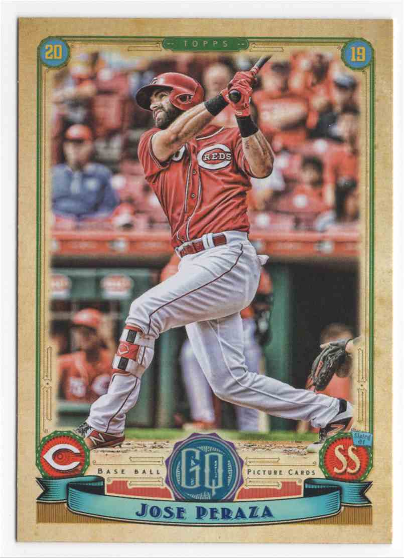 2019 Topps Gypsy Queen Jose Peraza #12 card front image