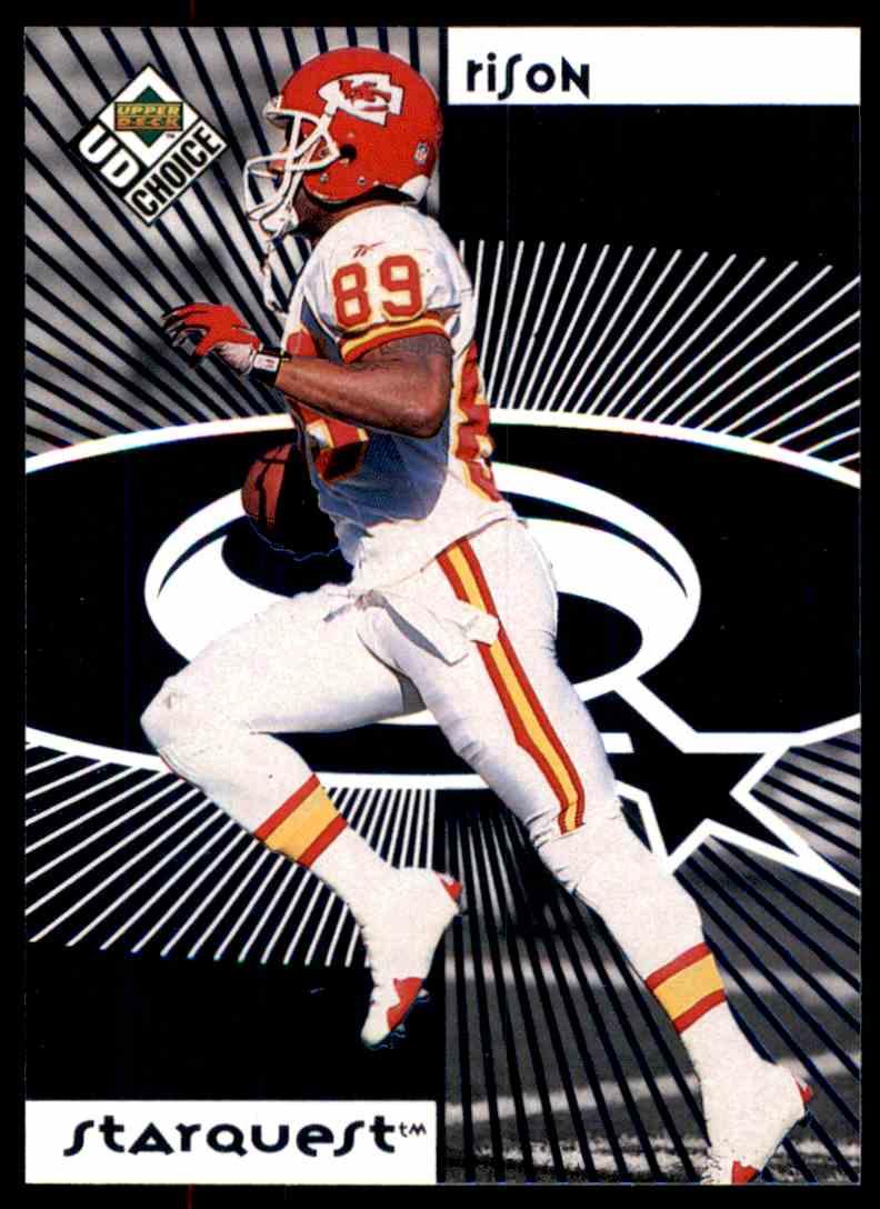 1998 UD Choice Starquest/Rookquest Blue Rison, Andre, Green, Jacquez #SR19 card front image