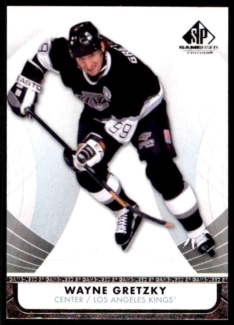 2012-13 SP Gamed Used Wayne Gretzky #53 card front image