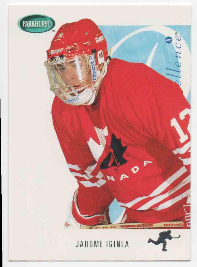 1994-95 Parkhurst Se Jarome Iginla #SE260 card front image
