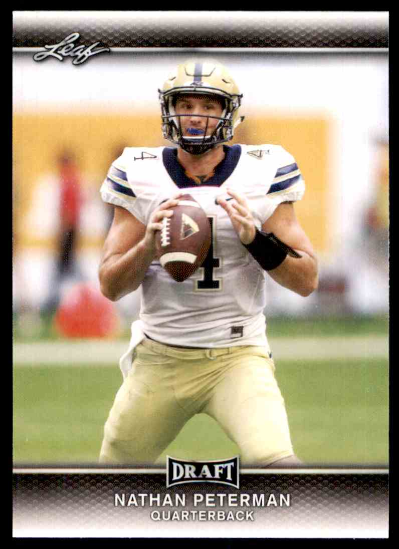 2017 Leaf Draft Nathan Peterman #53 card front image