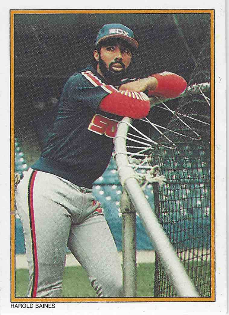 1987 Topps Mail In Glossy All Star Collection Harold Baines 14