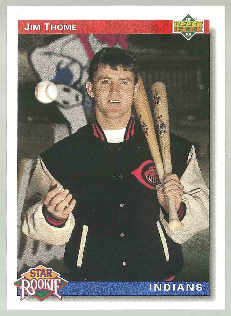 1991 Upper Deck Jim Thome #5 card front image