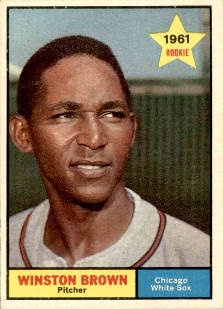 1961 Topps Winston Brown #391 card front image