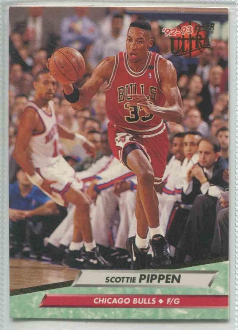1992 93 Fleer Ultra Scottie Pippen 31 On Kronozio