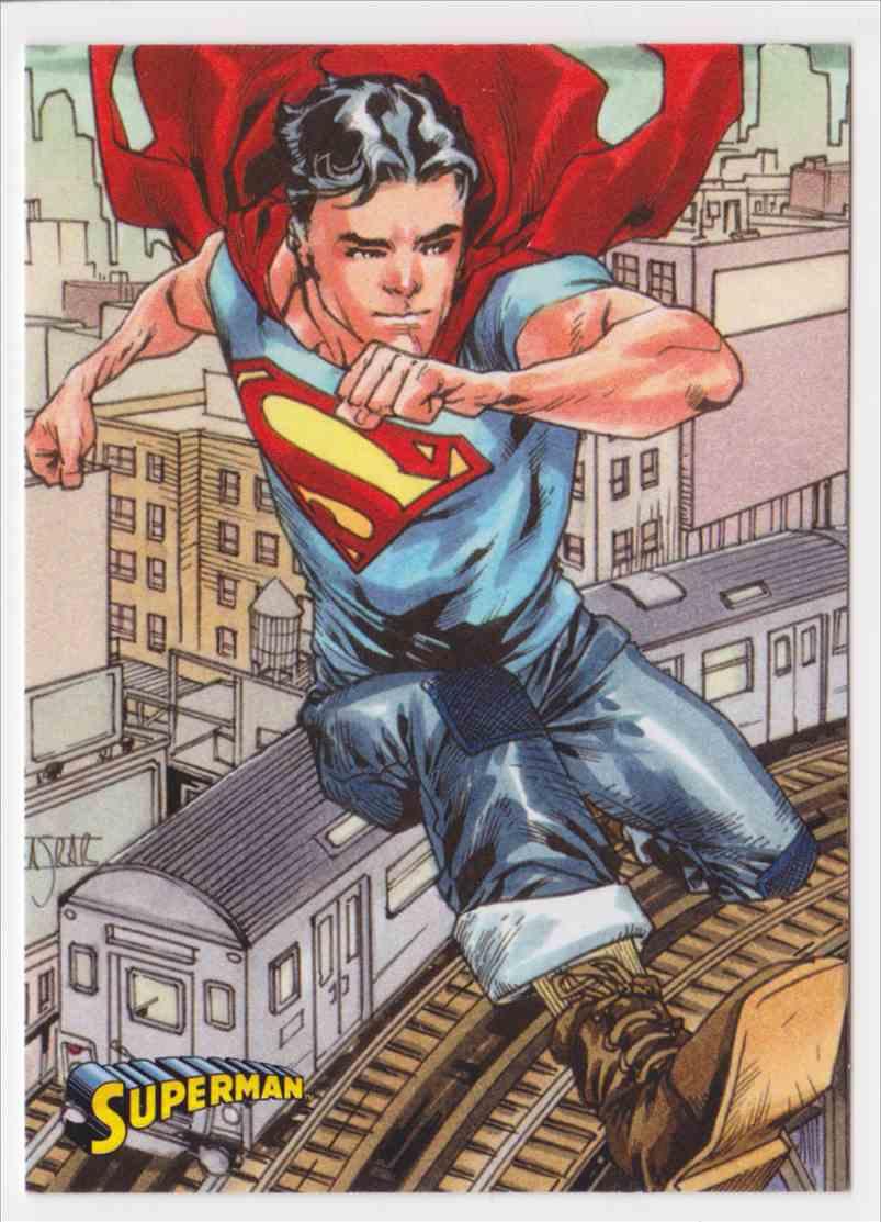2013 Superman Cryptozoic Superman #36 card front image