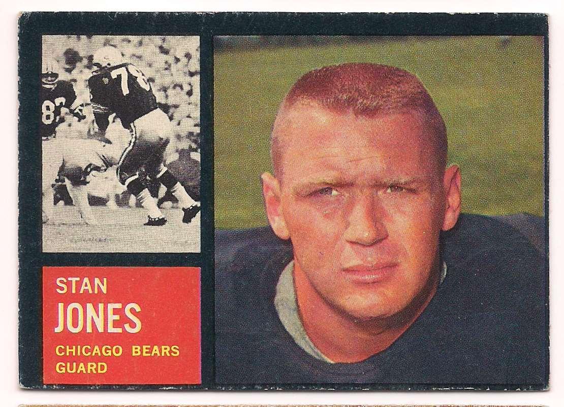 1962 Topps Stan Jones #18 card front image