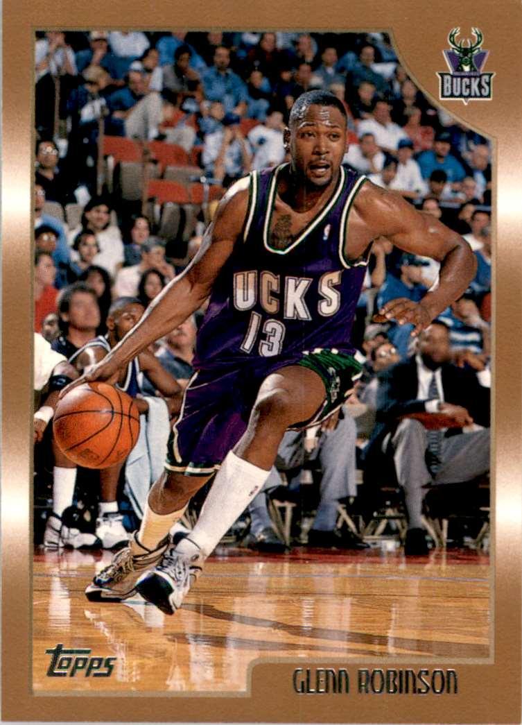 1998-99 Topps Glenn Robinson #65 card front image