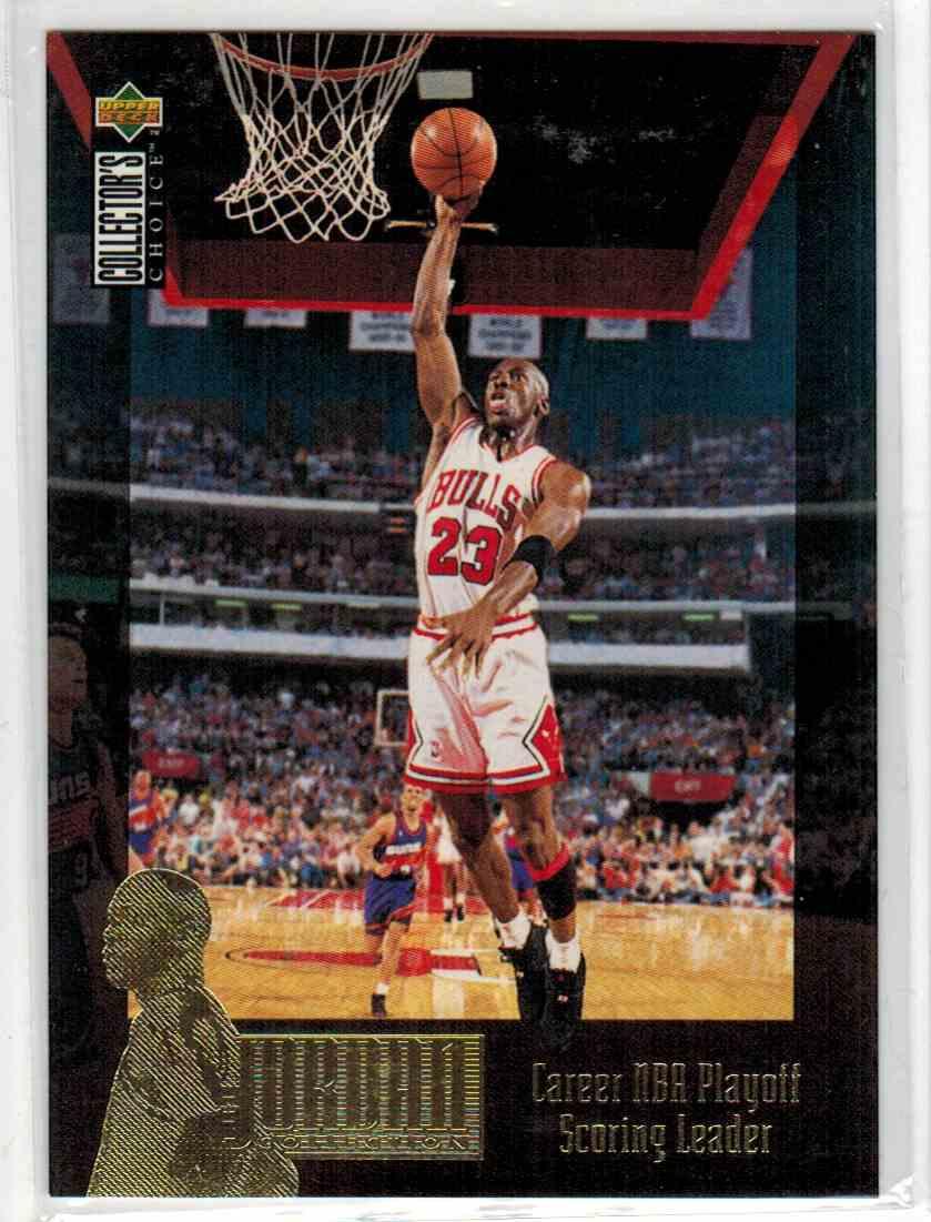 1995-96 Upper Deck Collector's Choice Michael Jordan #JC11 card front image