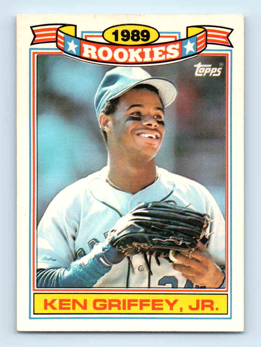 1990 Topps Rookies Ken Griffey Jr 11 On Kronozio