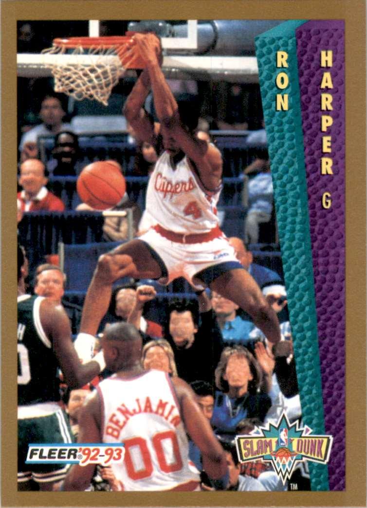 1992-93 Fleer Ron Harper #272 card front image