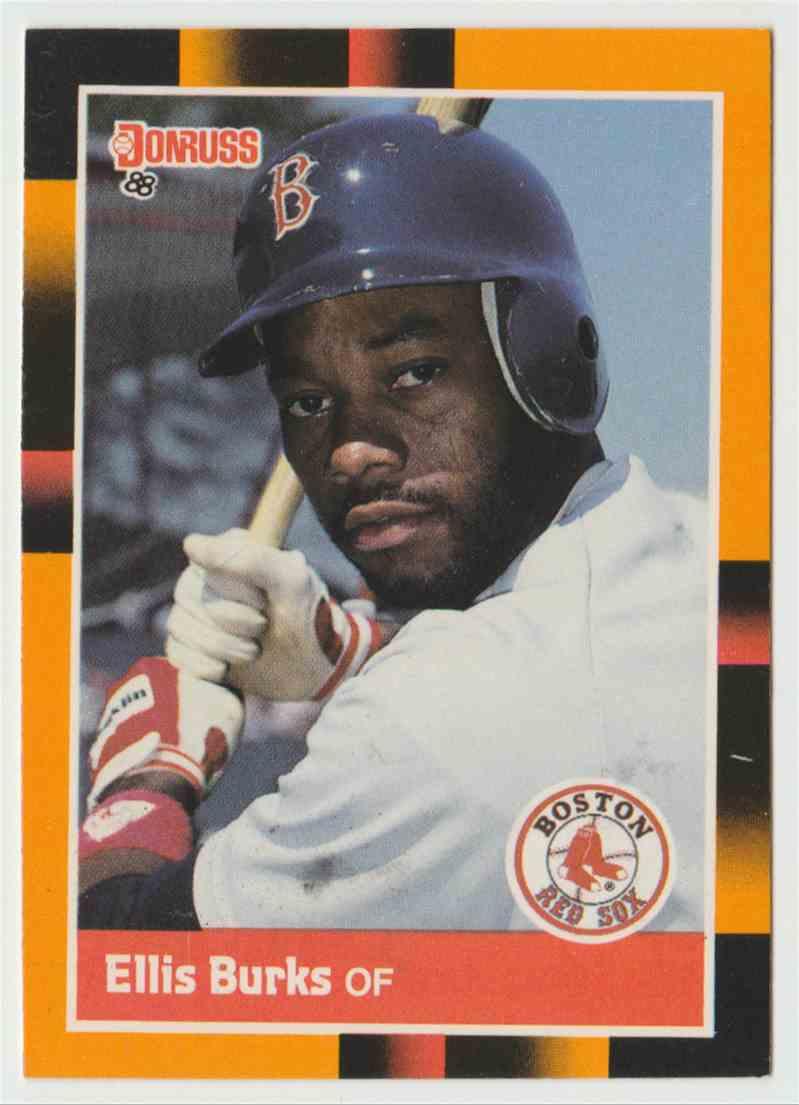 1988 Donruss Baseball39s Best Ellis Burks 121 On Kronozio