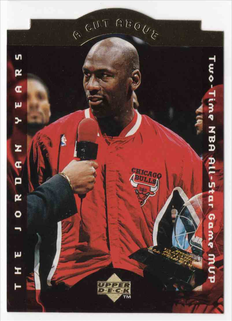 1996-97 Collectors Choice A Cut Above Michael Jordan #CA6 card front image