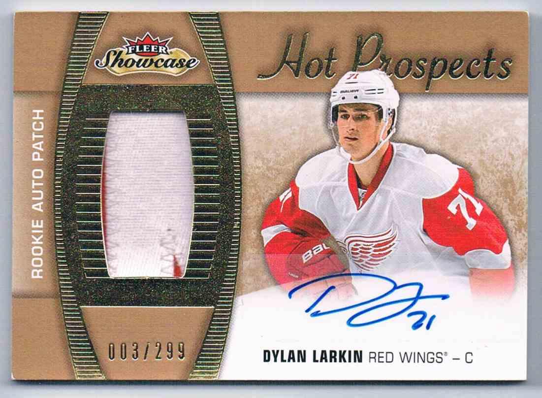 2015-16 Upper Deck Flair Showcase Dylan Larkin #190 card front image