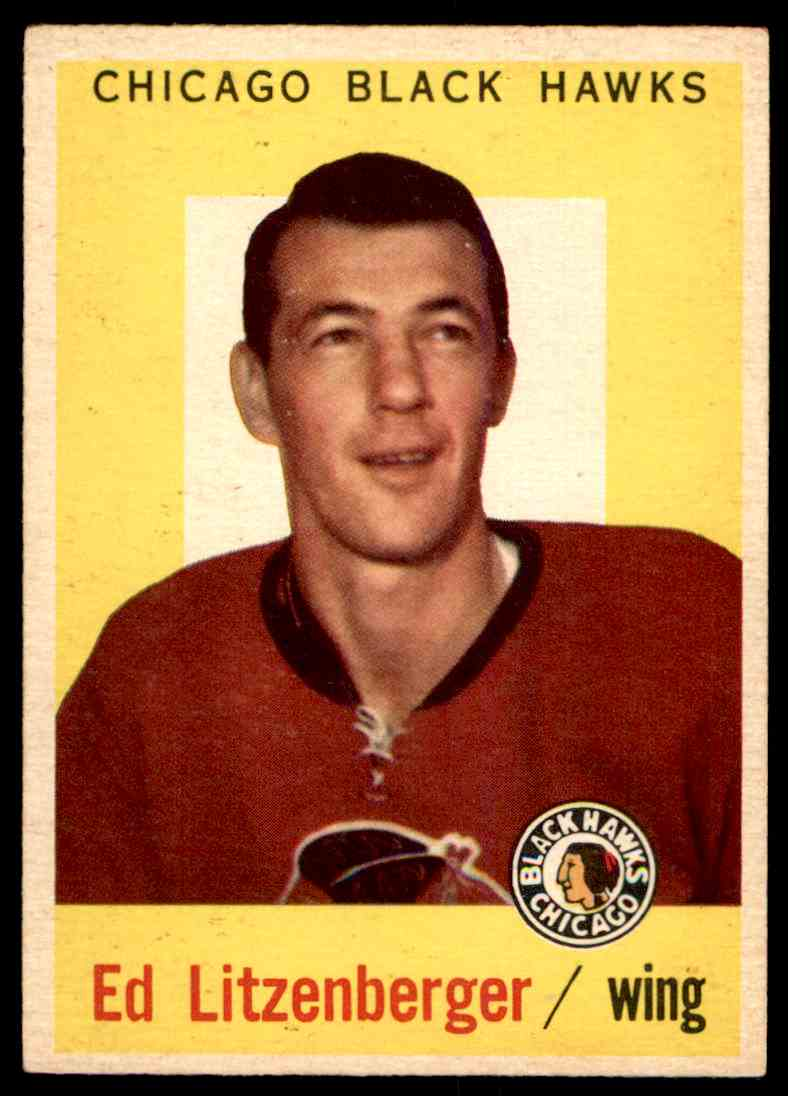 1959-60 Topps Ed Lizenger #61 card front image