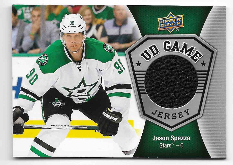 2016-17 Upper Deck Jason Spezza #GJ-SP card front image