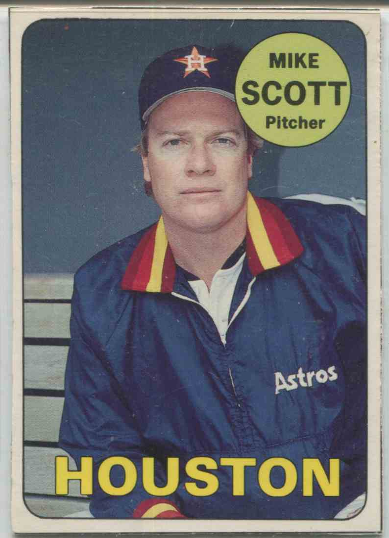 1990 Baseball Card Magazine Mike Scott 7 On Kronozio