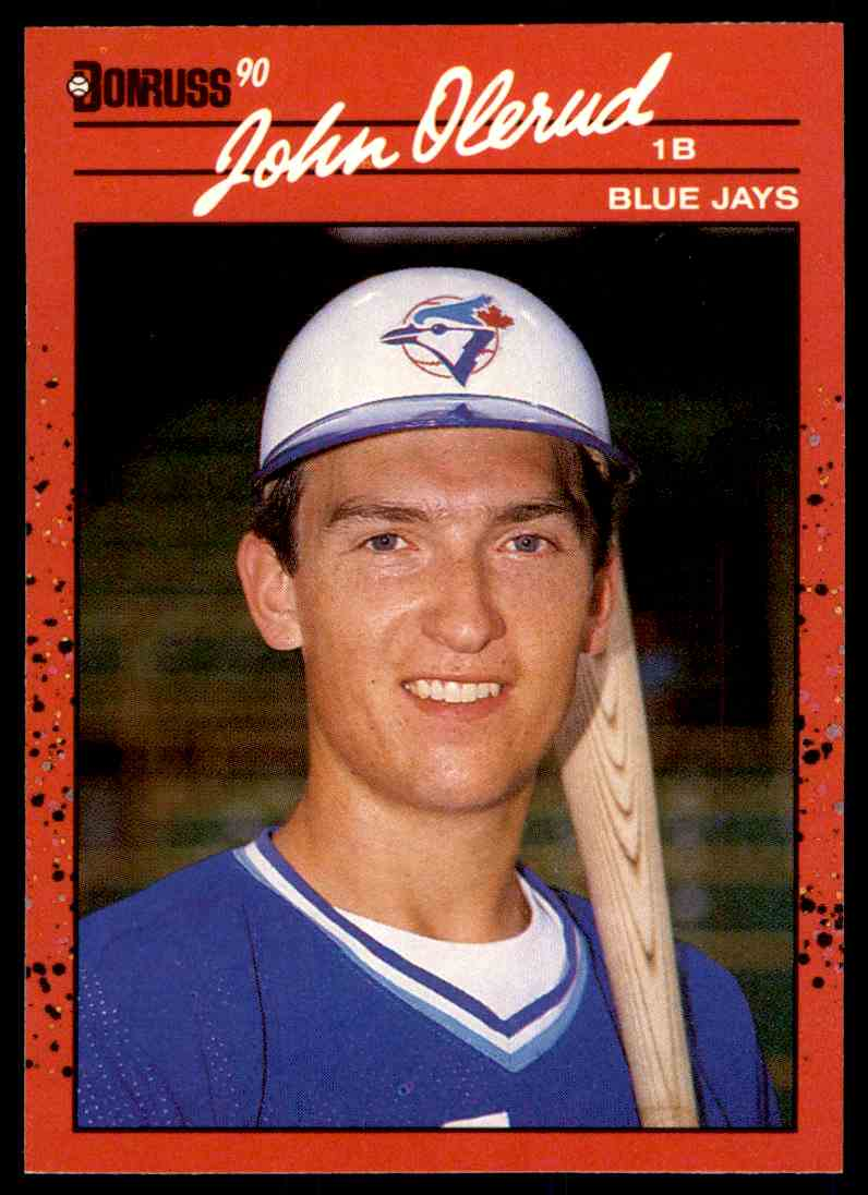 1990 Donruss John Olerud #711 card front image