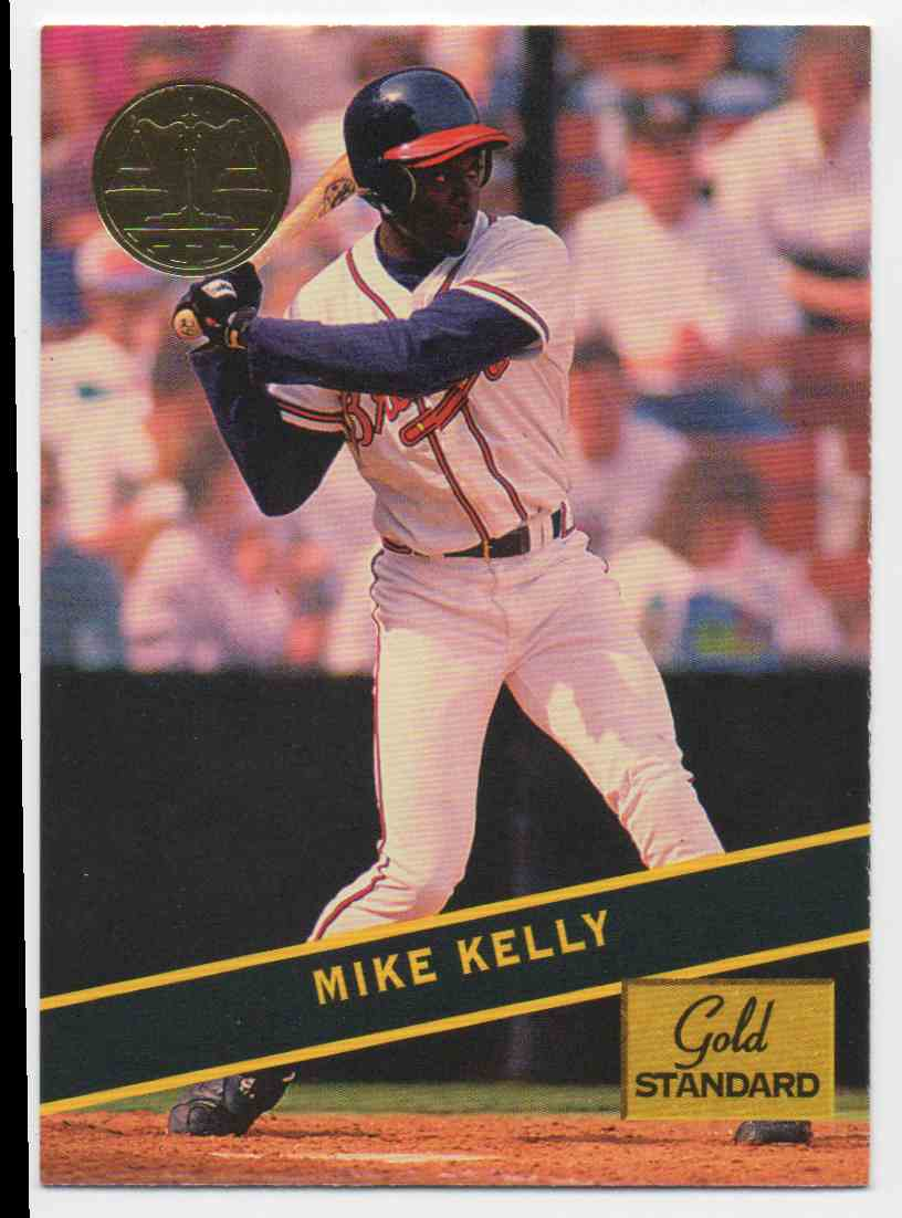 1994 Signature Rookies Gold Standard Mike Kelly #60 card front image
