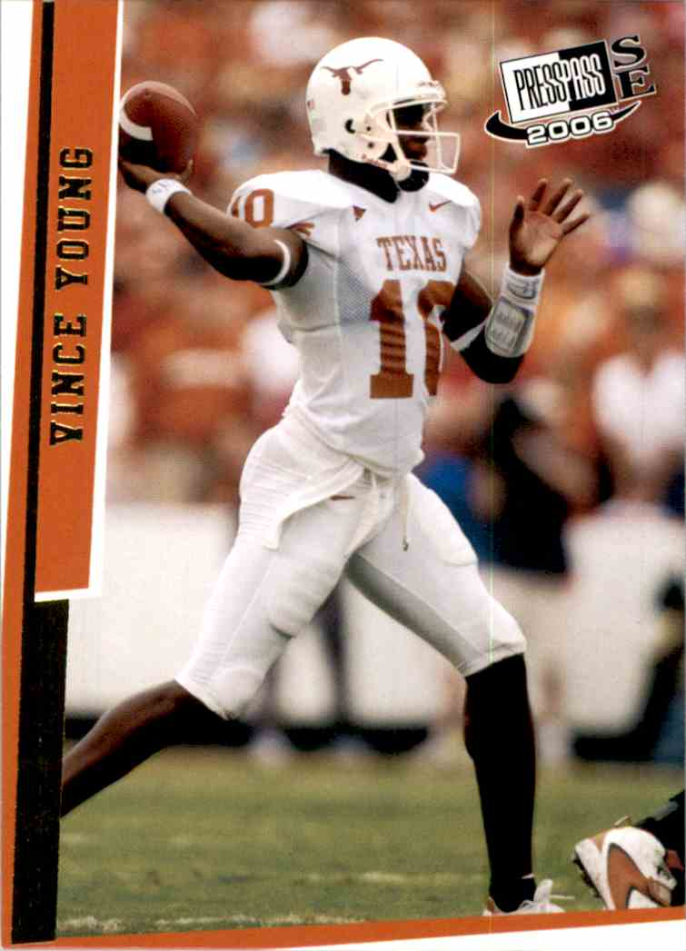 2006 Press Pass Se Gold Vince Young #39 card front image