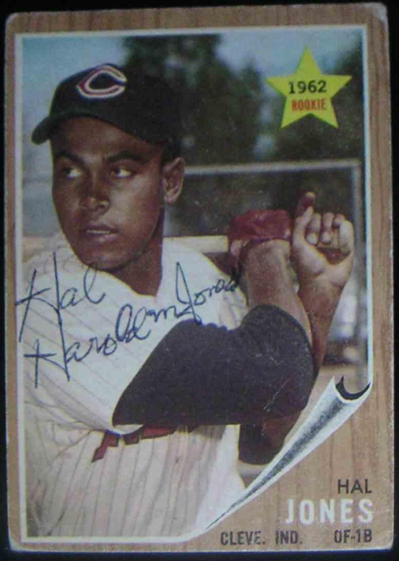 1962 Topps Hal Jones #49 card front image