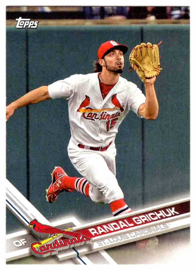 29 Randal Grichuk St Louis Cardinals Trading Cards For Sale
