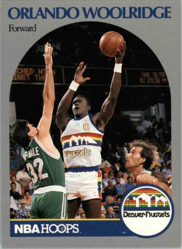 1990 91 NBA Hoops Orlando Woolridge 411 on Kronozio