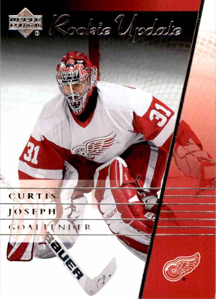 2002 03 Upper Deck Rookie Update Curtis Joseph 37 On Kronozio