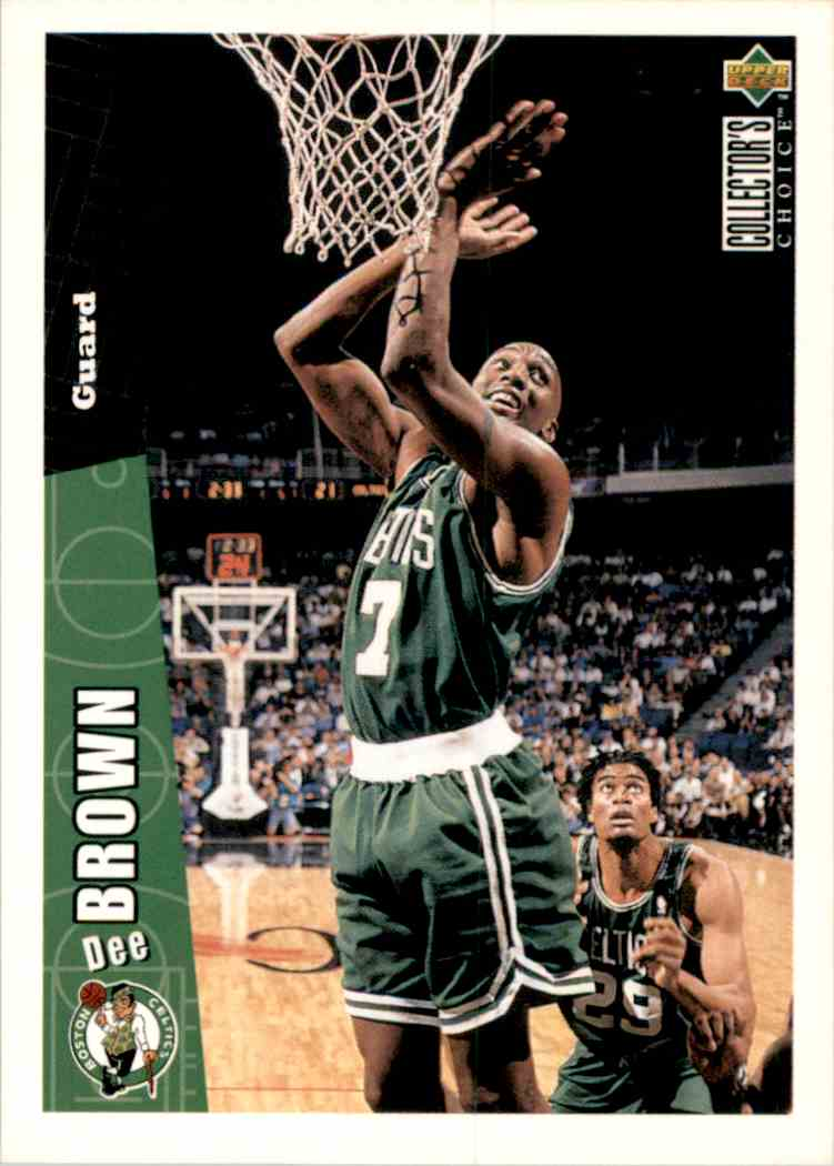 1996-97 Collector's Choice Dee Brown #206 card front image